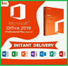 MICROSOFT OFFICE 2019 PROFESSIONAL PLUS LICENSE KEY 🔥 INSTANT DELIVERY 🔥