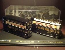 Oxford 1/76 Diecast 2 Modelo Pack Routemaster y Regent Guinness bus Pack