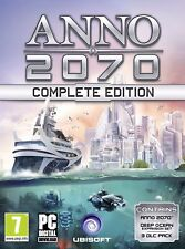 * PC NEW GAME * ANNO 2070 COMPLETE EDITION *