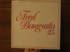 Fred Bongusto  25 Anni Di Fred Bongusto lp Disco Ricordi gatefold