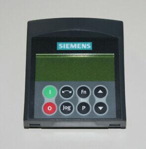 Siemens Micromaster 4 6SE6400-0AP00-0AA1 Advanced Operator Panel (AOP) A07/1.60
