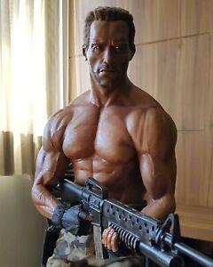 Predator 1/3 scale statue by Edinho Maga! Arnold Schwarzenegger! Amazing piece!