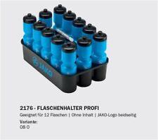 Saller Flaschenhalter-Set Trinkflaschen Fussball Handball Sport Halbzeit blau