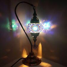 99p asta Turco Marocchino Tiffany lo stile tabella Lampada Da Tavolo Luce-UK Venditore
