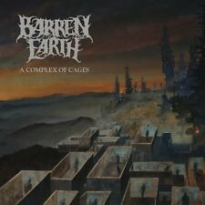 BARREN EARTH - A COMPLEX OF CAGES, SPECIAL EDITION DIGIPAK   CD NEUF