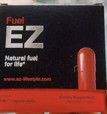 Fuel Ez Natural Energy Pill Dietary Supplements 2 capsules Nib