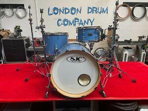 SJC Drum shell set with full Gibraltar hardware set