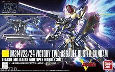 Bandai HGUC 1/144 V2 Assault Buster Gundam Plastic Model Victory
