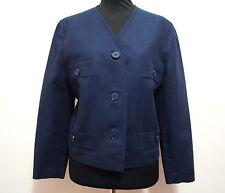 LUISA SPAGNOLI Giacca Donna Cotone Lino Cotton Flax Woman Jacket Sz.M - 44