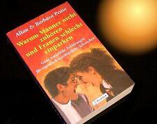 """""""Warum Männer nicht zuhören und Frauen schlecht einparken""""=amüsanter Bestseller"""