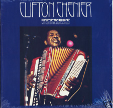Clifton Chenier SEALED Arhoolie Zydeco LP Out West w/Elvin Bishop & Steve Miiler
