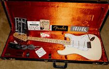 Fender American Vintage '70s Stratocaster Reissue Olympic White 2008 OHSC