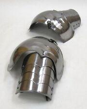 STEEL SHOULDER PLATES - MEDIEVAL COSTUMES - SHOULDER ARMOR SET - SPAULDER SET