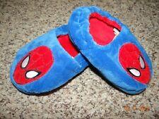 Marvel Spider-Man Toddler Boys' Slippers (Blue) 7-8 M Slip On Free Shipping