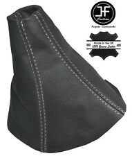 Punto blanco cubierta de engranajes de cuero gris oscuro encaja OPEL OPEL ASTRA H MK5 04-09
