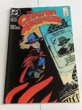 The Crimson Avenger #1 June 1988 DC Comics Limited Series
