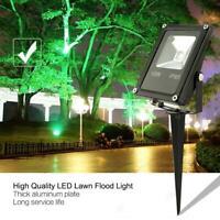 Garden Spotlight RGB LED Outdoor Yard Lawn Waterproof Spike Light Remote Control