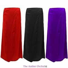 Polyester Patternless Wrap, Sarong Casual Skirts for Women
