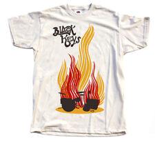 The Black Keys V1, rock - blues band, poster DTG T-SHIRT (NATURAL WHITE) S-5XL
