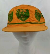 Vintage Deadstock Baylor University Bears Yellow Painters Cap NCAA