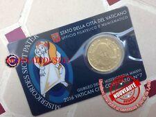 50 Cent Coincard Euro Vatican 2016 - Pape François