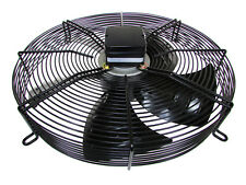 "3ph 400v Guard Mounted Axial 330mm 13"" 4 Pole BLOWER Fan Quality cw terminal box"