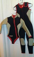 Mariner Suits  Piece Mens Wetsuit small Combo Neoprene