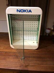 Vintage Nokia Display Case Shop Fitting Bathroom Cabinet Very Rare & Unusual