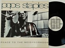 Pops Staples - Peace To The Neighborhood LP 1992 UK Press Pointblank Vinyl EX