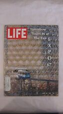 Life Magazine April 28th 1967 Tomorrow Soars In At The Fair Expo Publisher Time