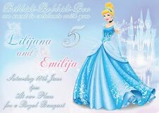 Cinderella Personalised Digital Invitation - Print At Home
