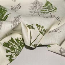 Tessuto puro lino fantasia cm. 50x150