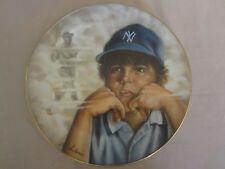 THE LITTLE YANKEE collector plate ANTHONY SIDONI Baseball BABE RUTH   RARE