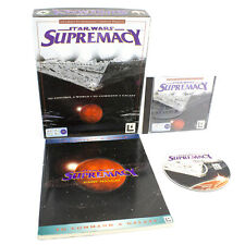 Star Wars Supremacy for PC CD-ROM by Lucas Arts in Big Box, 1998, Sci-Fi