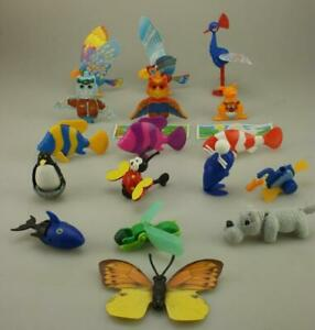 Lot of 17 Kinder Surprise 1994 Animals Butterfly, Fish & Birds All K94 Era D395