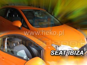 Windabweiser für Seat Ibiza SC FR 4 6J//6P Facelift 2012-2015 Sportcoupé Schräghe