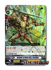 Cardfight Vanguard  x 4 Knight of New Sun, Catillus - G-SD02/007EN - (common ver