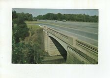 "Vintage Post Card - Pennsylvania Turnpike ""Blue Mountain Interchange"""