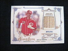 JAY BRUCE GAME-USED BAT RELIC CARD --2014 ALLEN AND GINTER