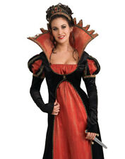 Gothic Vampire Countess Twilight Evil Dark Queen Adult Halloween Costume S