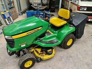 "John Deere X300R Ride on Lawn Mower 42"" Deck Collector"