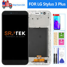 For LG Stylo 3 Plus Screen Replacement Frame MP450 LCD Display Touch Digitizer