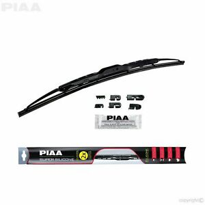 PIAA 95050 Super Silicone Windshield Wiper Blade 20 in. Water Repellent Barrier