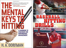 Baseball Instructional Book and DVD on Hitting (Batting) - Free Shipping!!