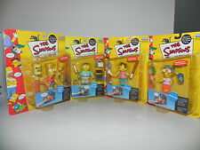 BNIP WOS The Simpsons Kamp Krusty Bart Milhouse Nelson Ralph  Playmates Figures