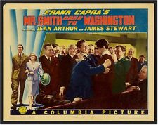 Mr. Smith Goes To Washington Lobby Card Movie Poster 1939