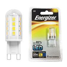 Energizer LED G9 Fitting 2.3w = 20w Warm White Energy Saving Light Bulb Lamp