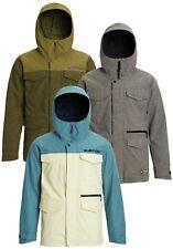 Men's BURTON Covert Insulated Snowboard Jacket Ski Coat Waterproof Relaxed Fit