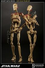 EMS 1/6 scale Sideshow Star Wars Security Battle Droids set of two