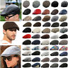 Men Newsboy Ivy Golf Driving Flat Cap Beret Bonnet Cabbie Gatsby Peaked Hat